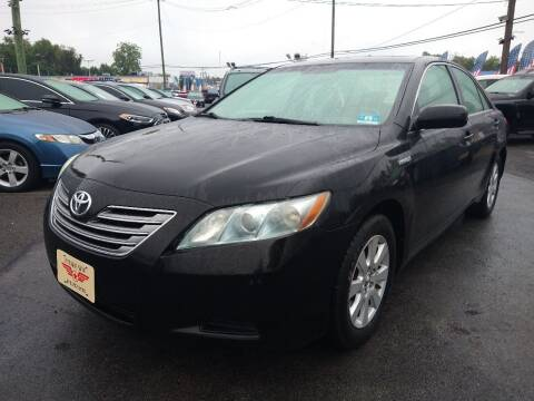 2008 Toyota Camry Hybrid for sale at P J McCafferty Inc in Langhorne PA