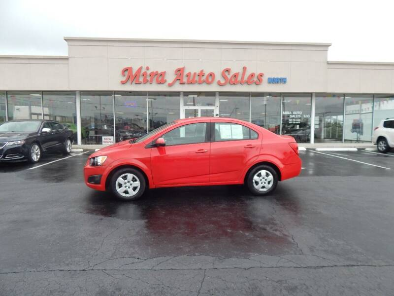 2015 Chevrolet Sonic for sale at Mira Auto Sales in Dayton OH