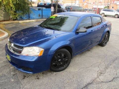 2014 Dodge Avenger for sale at 5 Stars Auto Service and Sales in Chicago IL
