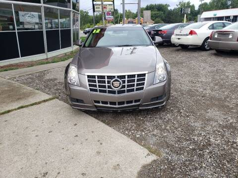 2012 Cadillac CTS for sale at Fansy Cars in Mount Morris MI