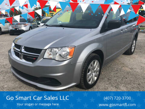2018 Dodge Grand Caravan for sale at Go Smart Car Sales LLC in Winter Garden FL