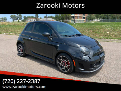 2013 FIAT 500 for sale at Zarooki Motors in Englewood CO