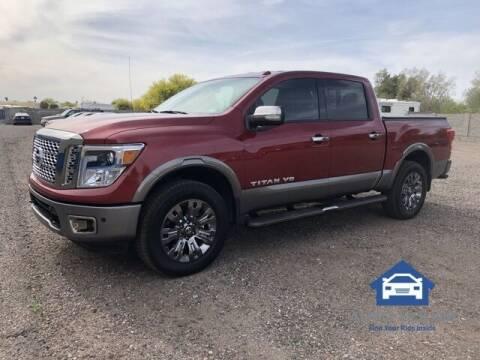 2019 Nissan Titan for sale at MyAutoJack.com @ Auto House in Tempe AZ