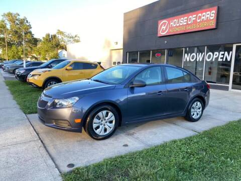 2014 Chevrolet Cruze for sale at HOUSE OF CARS CT in Meriden CT