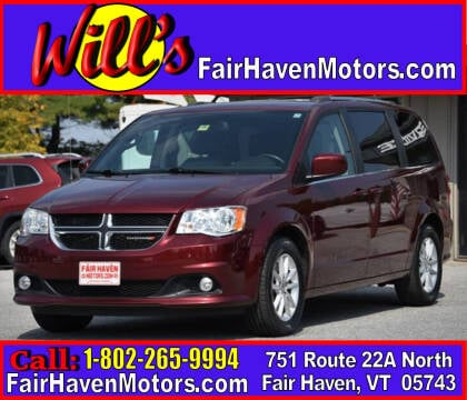 2018 Dodge Grand Caravan for sale at Will's Fair Haven Motors in Fair Haven VT