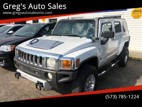 2008 HUMMER H3 for sale at Greg's Auto Sales in Poplar Bluff MO