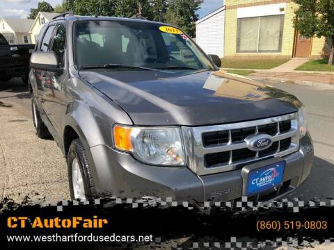 2011 Ford Escape for sale at CT AutoFair in West Hartford CT