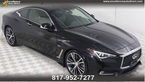 2017 Infiniti Q60 for sale at Excellence Auto Direct in Euless TX