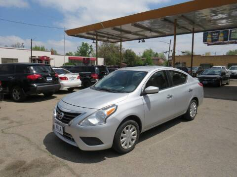 2017 Nissan Versa for sale at Nile Auto Sales in Denver CO