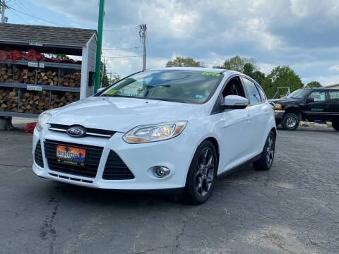 2014 Ford Focus for sale at Irving Auto Sales in Whitman MA