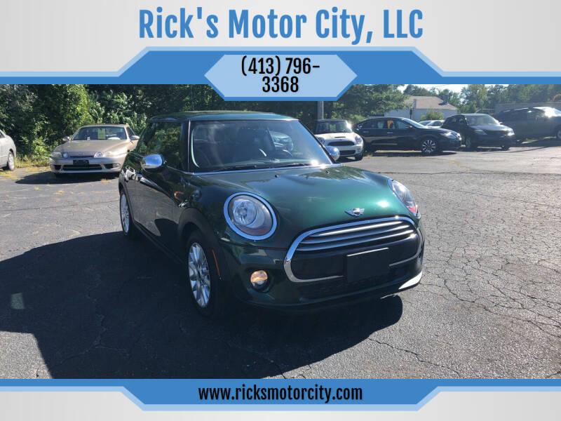 2014 MINI Hardtop for sale at Rick's Motor City, LLC in Springfield MA
