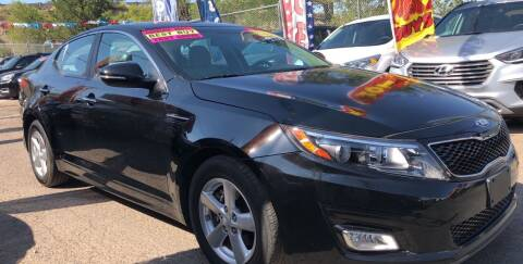 2015 Kia Optima for sale at Duke City Auto LLC in Gallup NM