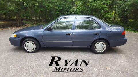2000 Toyota Corolla for sale at Ryan Motors LLC in Warsaw IN