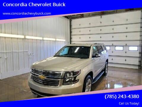 2016 Chevrolet Tahoe for sale at Concordia Chevrolet Buick in Concordia KS