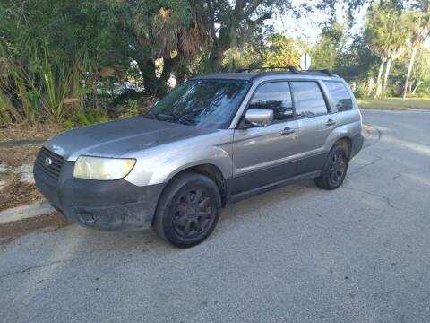 2007 Subaru Forester for sale at Low Price Auto Sales LLC in Palm Harbor FL