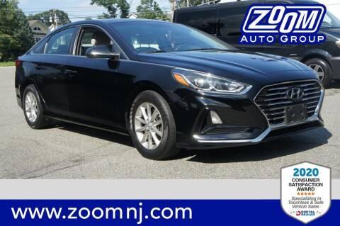 2018 Hyundai Sonata for sale at Zoom Auto Group in Parsippany NJ