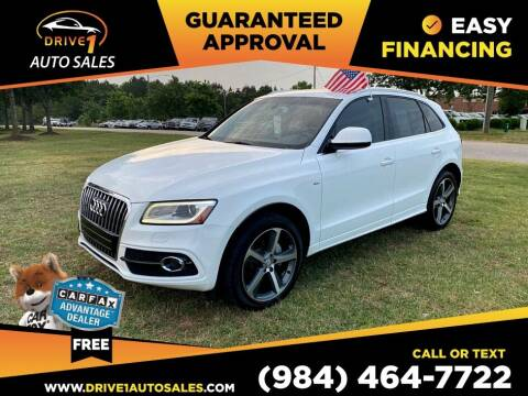 2015 Audi Q5 for sale at Drive 1 Auto Sales in Wake Forest NC