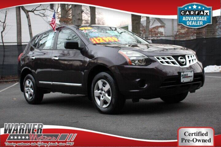 2014 Nissan Rogue Select for sale at Warner Motors in East Orange NJ