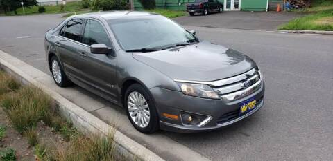 2010 Ford Fusion Hybrid for sale at Kingz Auto LLC in Portland OR