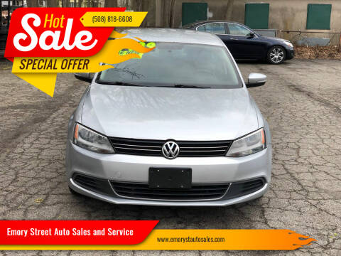 2013 Volkswagen Jetta for sale at Emory Street Auto Sales and Service in Attleboro MA