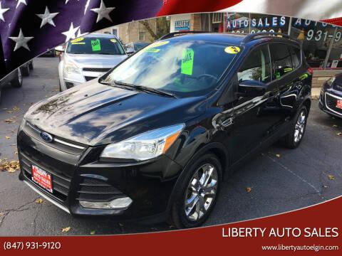 2014 Ford Escape for sale at Liberty Auto Sales in Elgin IL