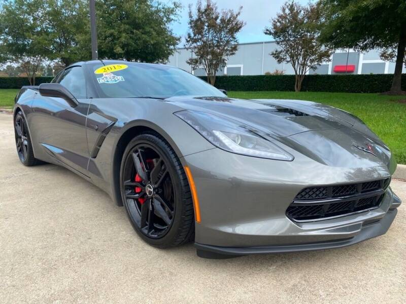 2015 Chevrolet Corvette for sale at UNITED AUTO WHOLESALERS LLC in Portsmouth VA