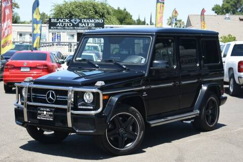 2017 Mercedes-Benz G-Class for sale at Black Diamond Auto Sales Inc. in Rancho Cordova CA