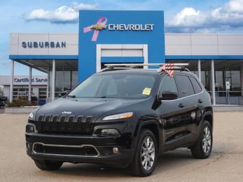 2018 Jeep Cherokee for sale at Suburban Chevrolet of Ann Arbor in Ann Arbor MI