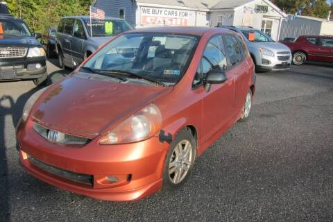 2008 Honda Fit for sale at K & R Auto Sales,Inc in Quakertown PA