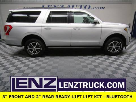 2019 Ford Expedition MAX for sale at LENZ TRUCK CENTER in Fond Du Lac WI