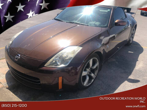 2006 Nissan 350Z for sale at Outdoor Recreation World Inc. in Panama City FL