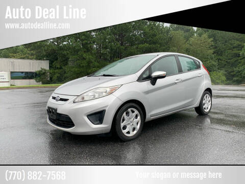 2013 Ford Fiesta for sale at Auto Deal Line in Alpharetta GA