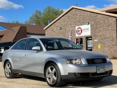 2004 Audi A4 for sale at Big Man Motors in Farmington MN
