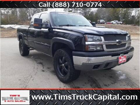 2003 Chevrolet Silverado 1500 for sale at TTC AUTO OUTLET/TIM'S TRUCK CAPITAL & AUTO SALES INC ANNEX in Epsom NH