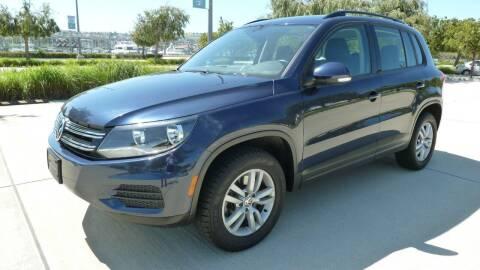 2016 Volkswagen Tiguan for sale at International Motors in San Pedro CA
