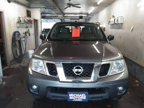 2016 Nissan Frontier for sale at MICHAEL MOTORS in Farmington ME