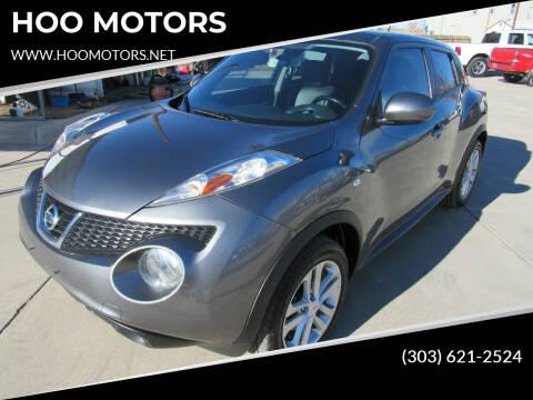 2013 Nissan JUKE for sale at HOO MOTORS in Kiowa CO
