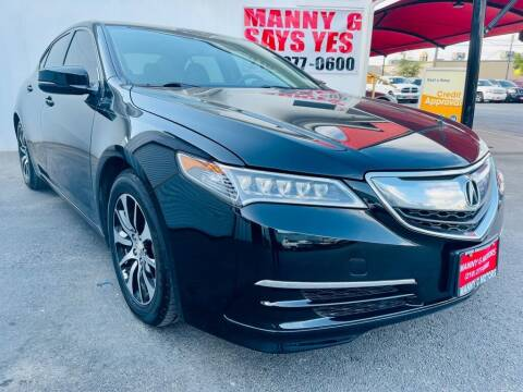 2016 Acura TLX for sale at Manny G Motors in San Antonio TX