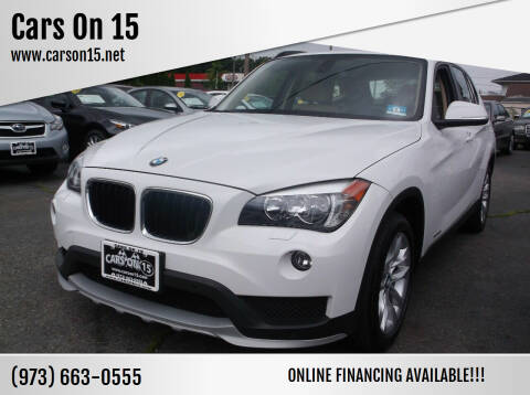 2015 BMW X1 for sale at Cars On 15 in Lake Hopatcong NJ