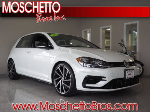 2019 Volkswagen Golf R for sale at Moschetto Bros. Inc in Methuen MA