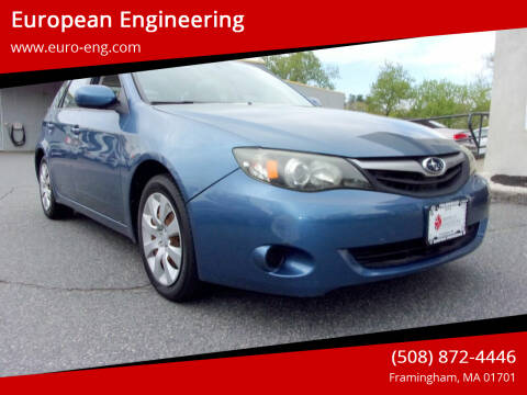 2010 Subaru Impreza for sale at European Engineering in Framingham MA