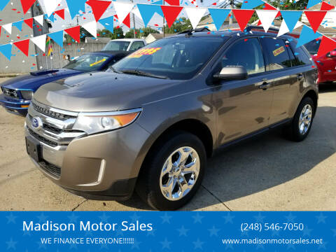 2014 Ford Edge for sale at Madison Motor Sales in Madison Heights MI
