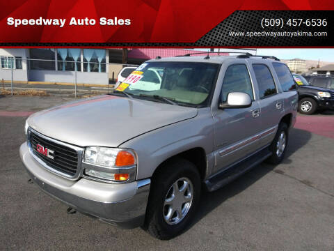2004 GMC Yukon for sale at Speedway Auto Sales in Yakima WA