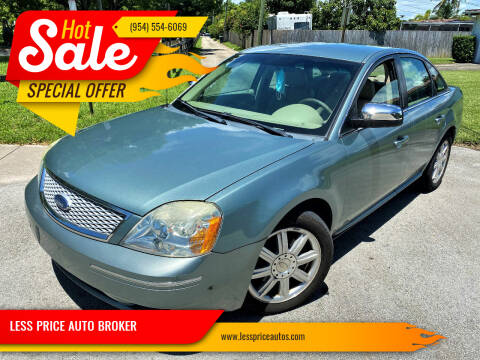2006 Ford Five Hundred for sale at LESS PRICE AUTO BROKER in Hollywood FL