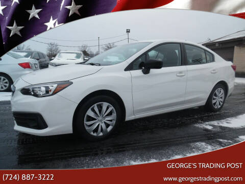 2020 Subaru Impreza for sale at GEORGE'S TRADING POST in Scottdale PA