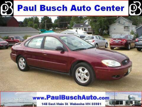 2005 Ford Taurus for sale at Paul Busch Auto Center Inc in Wabasha MN