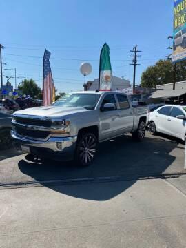 2018 Chevrolet Silverado 1500 for sale at 2955 FIRESTONE BLVD - 3271 E. Firestone Blvd Lot in South Gate CA