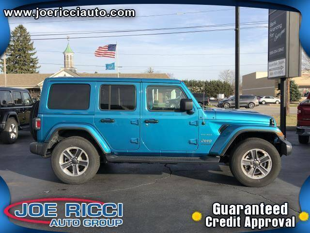 2020 Jeep Wrangler Unlimited for sale at Mr Intellectual Cars in Shelby Township MI