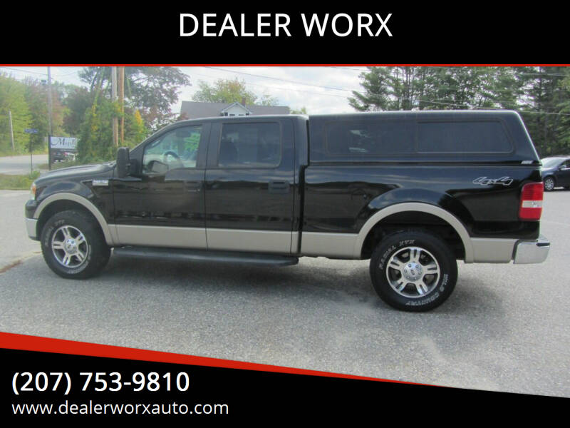2008 Ford F-150 for sale at DEALER WORX in Auburn ME