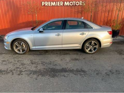 2018 Audi A4 for sale at PremierMotors INC. in Milton Freewater OR